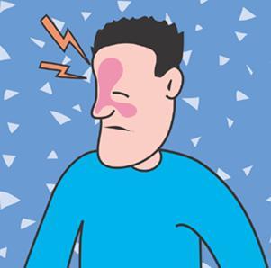 sinusite dessin