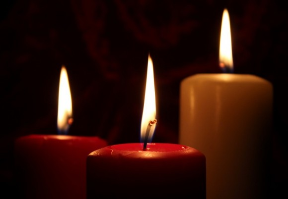 deuil bougies
